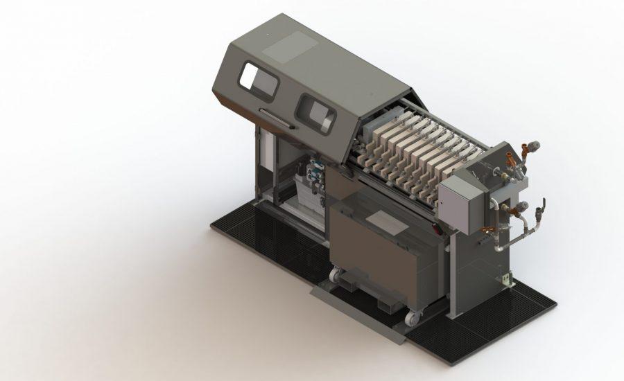 Automatische Filterpresse